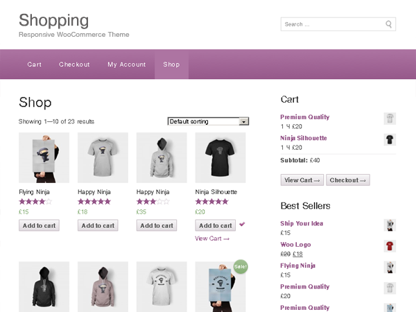 shopping Shopping   eCommerce WordPress Theme